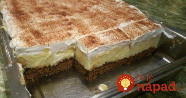 Výborný koláčik, ktorý určite poteší všetkých milovníkov krémových dobrôt. Navyše, jeho príprava je skutočne jednoduchá a rýchla. Ak chcete vyskúšať inú verziu klasického krémeša, tento dezert je pre vás tým pravým.