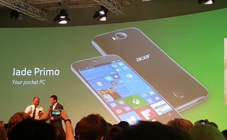 Acer Jade Primo, PC Phone Pertama Dari Acer | Berita Digital Kalteng