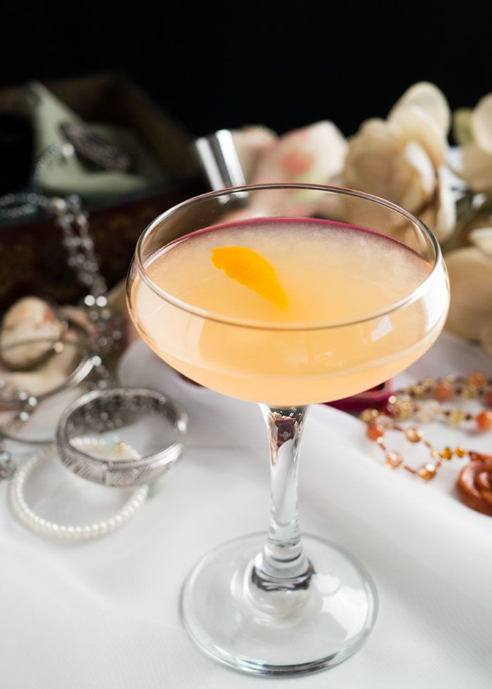 Indulge your guests (or your date or yourSELF) with this lavish cachaça cocktail layered with elderflower liqueur and grapefruit juice.