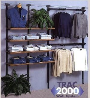 Trac 2000 Clothing Display Wall System | Store Fixtures | Allen Display