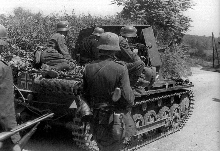 German 50 Mm Anti Tank Gun: A German Marauder Anti-tank Gun.