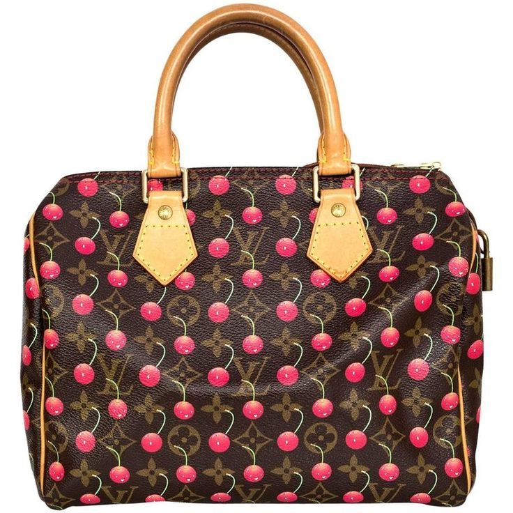 Louis Vuitton Monogram Cherry Cerises Speedy 25 Bag