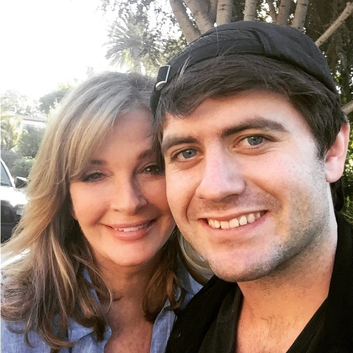 Who's That GORGEOUS GUY With Deidre Hall?her son David..