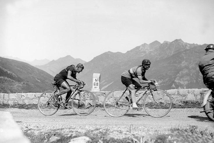 ......Jean Robic, Tourmalet, TdF, 1948