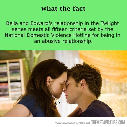 edward and bella have an abusive relationship