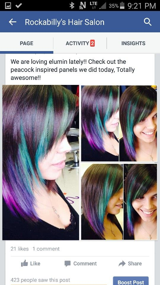If you want true commitment with strong fashion colors.....Elumen is your game!