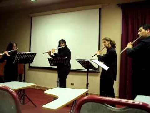Concierto de flautas traversas.avi - YouTube