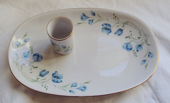 Vintage French Porcelain Limoges Style by mamaisonfrancaise