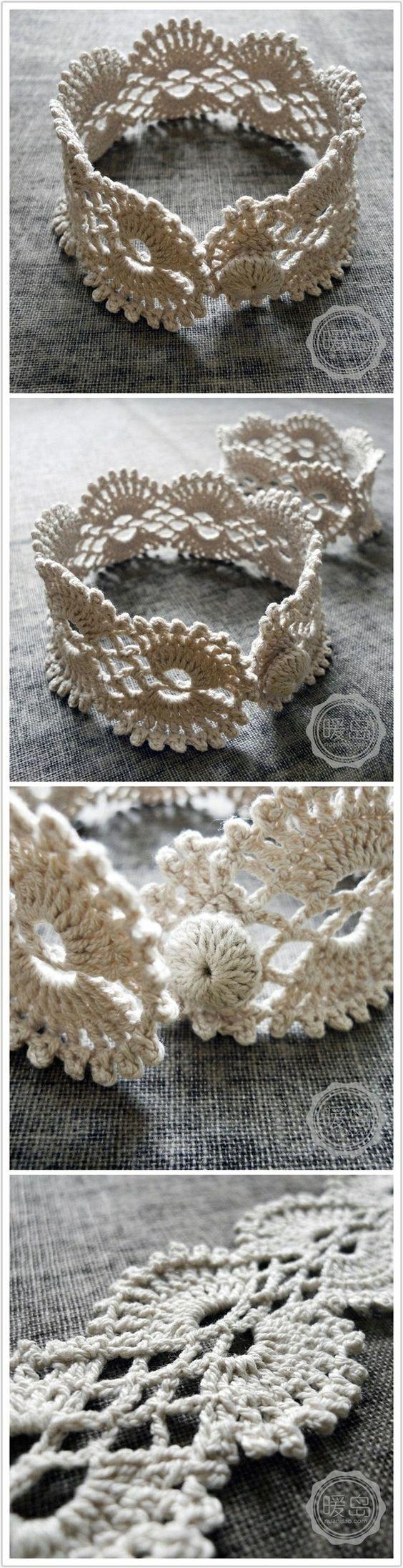 Christina Crochet Passion: Crochet bracelet