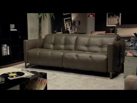 Natuzzi sofa collection - Duca Natuzzi Italia sofa - YouTube