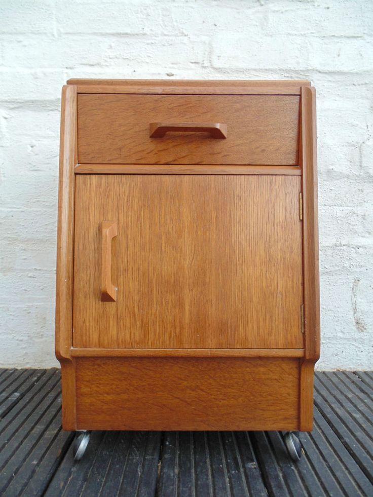 Retro g plan brandon bedside cabinet drawer free delivery for Bedside cabinet plans