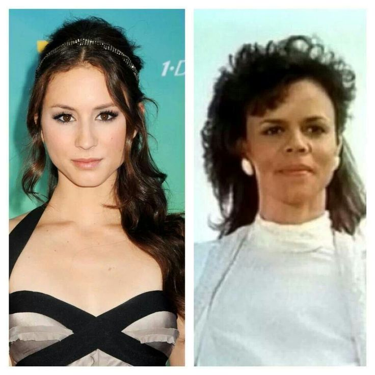 Troian Bellasario (Pretty Little Liars) and her mother, TV Producer Deborah Pratt.
