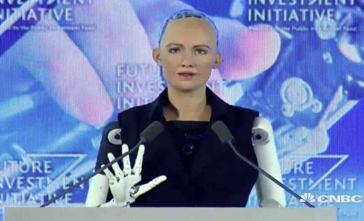 Watch CNBC's Andrew Ross Sorkin interview Sophia first humanoid robot at the future of artificial intelligence in a Future Investment Institute panel in Saudi Arabia on Wednesday.  Big Data, a giant leap into the future of technology and Digital Marketing.   #ArtificialIntelligence