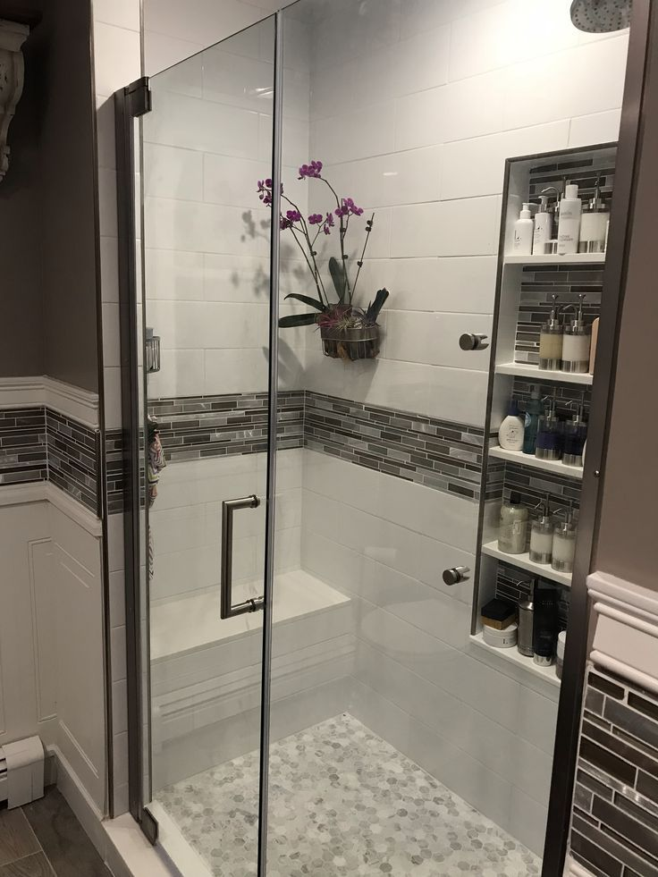 love the shower orchid and extra large niche
