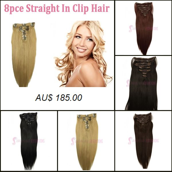 Always wanted straight hair, but not enough courageous to stake your hairs? Fool your peers or mates by wearing a straight hair look using 8Pc Straight Clip In Hair Extension offered by Lavadene in prices that won't pinch your pocket. http://www.hairextensionsmelbourne.com.au/clip-in-hair-extension/straight-clip-in-hair-extensions.html #HairExtension #ClipHairExtension