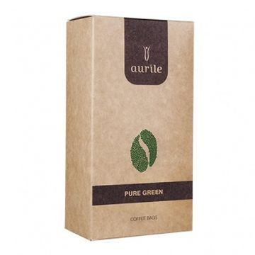 Kawa zielona w torebkach-piramidkach Aurile Pure Green