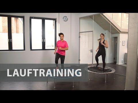 Kurzes und intensives Lauftraining auf dem bellicon® Minitrampolin   bellicon Deutschland - YouTube