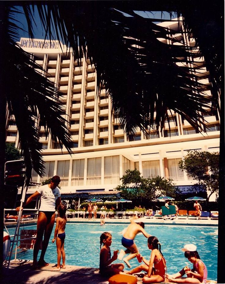 The Athens Hilton - one of the settings for the novel, 1967