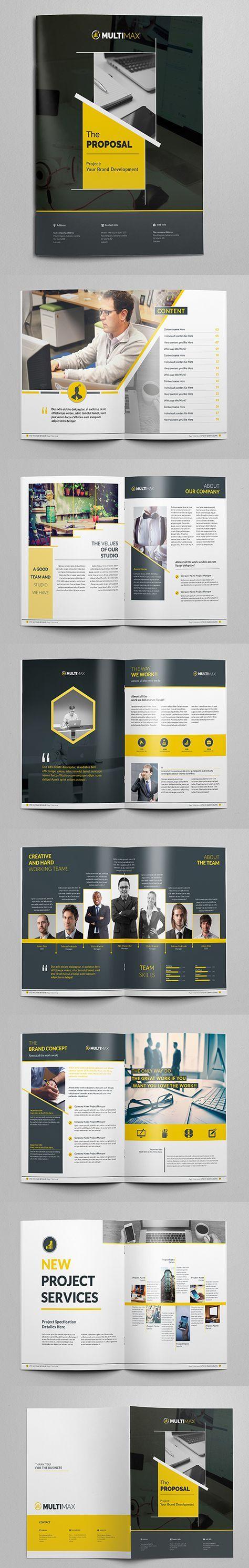 BookModern Business Proposal Brochure / Category Design