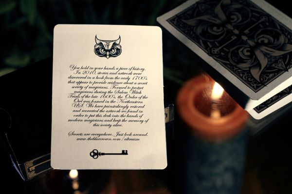 Altruism Playing Cards Design & Logo 14