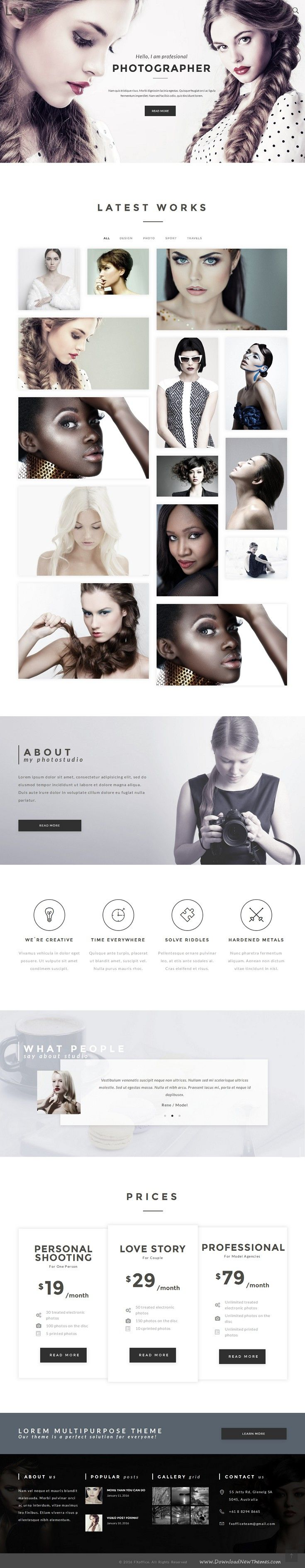 Best 25+ Photography website ideas on Pinterest