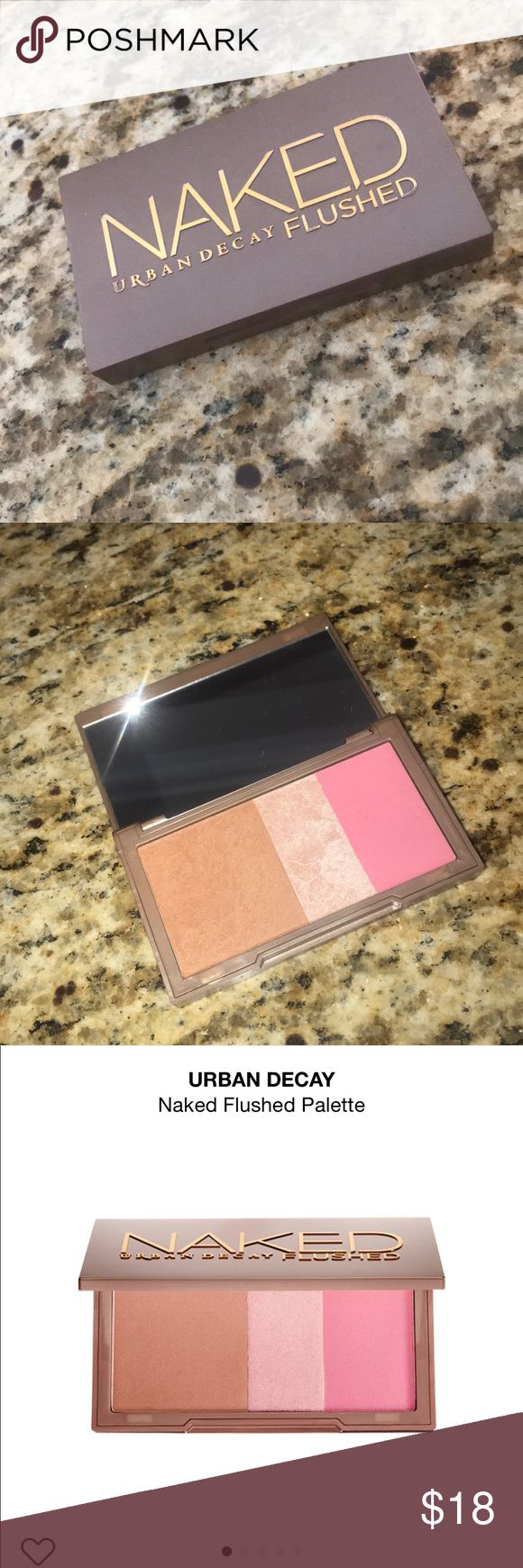 ✨💕✨URBAN DECAY NAKED FLUSHED PALETTE ✨💕✨ ✨💕URBAN DECAY NAKED FLUSHED PALETTE💕✨ ✨💕BRONZER, BLUSH and HIGHLIGHTER💕✨ Urban Decay Makeup Bronzer
