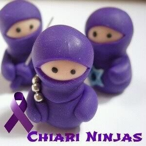 In honor of my family...who helps me fight with the strength and grace of Jesus on days when Chiari tries to kick my butt.