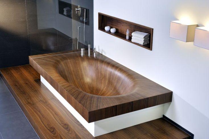 wooden bathtubs all wood baths by alegna (6)