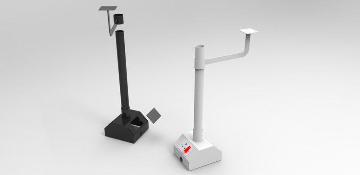 Under Table cable management pedestal