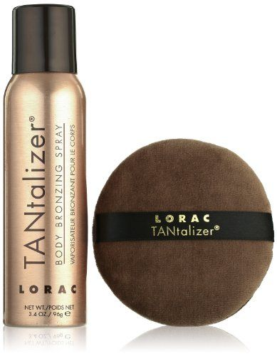LORAC TANtalizer Body Bronzing Spray, 3.4 oz. * Click image for more details.