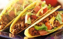 Tacos de carne moída