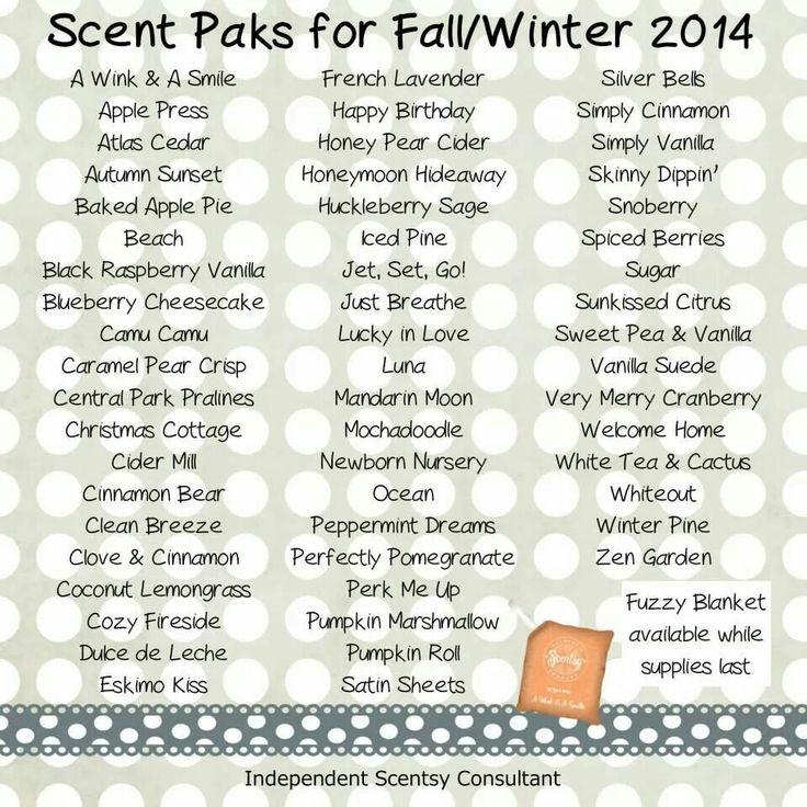 Scentsy Fall 2014 Buddies