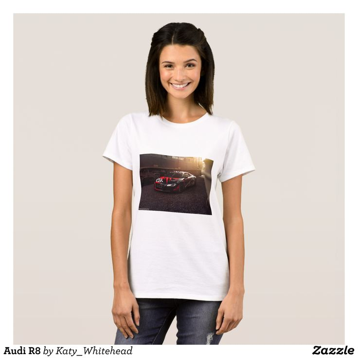Audi R8 T-Shirt - Fashionable Women's Shirts By Creative Talented Graphic Designers - #shirts #tshirts #fashion #apparel #clothes #clothing #design #designer #fashiondesigner #style #trends #bargain #sale #shopping - Comfy casual and loose fitting long-sleeve heavyweight shirt is stylish and warm addition to anyone's wardrobe - This design is made from 6.0 oz pre-shrunk 100% cotton it wears well on anyone - The garment is double-needle stitched at the bottom and sleeve hems for extra…