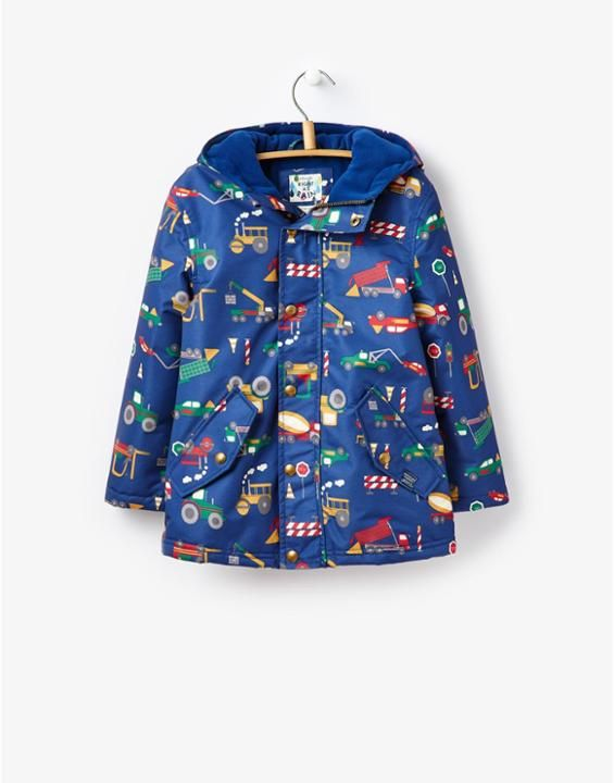 JNR BLUSTER Boys Waterproof Coat