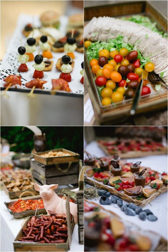French Wedding Food Ideas Ceremony Pinterest And Rustic