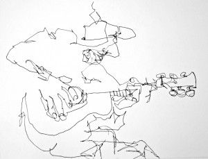 """Blind contour drawing  Kimon Nicolaides invaluable book, """"The Natural Way to Draw.""""    Click on pic for tutorial"""