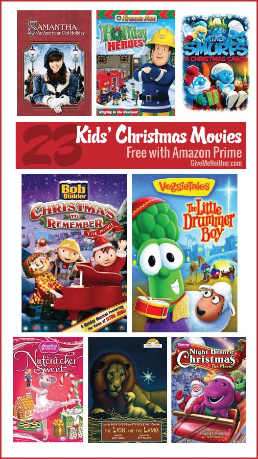 List of Christmas movies for kids free with Amazon Prime