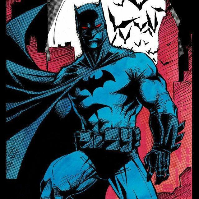"""""""Batman  Artwork by Djibril Morissette-Phan  #SuperheroJr"""""""