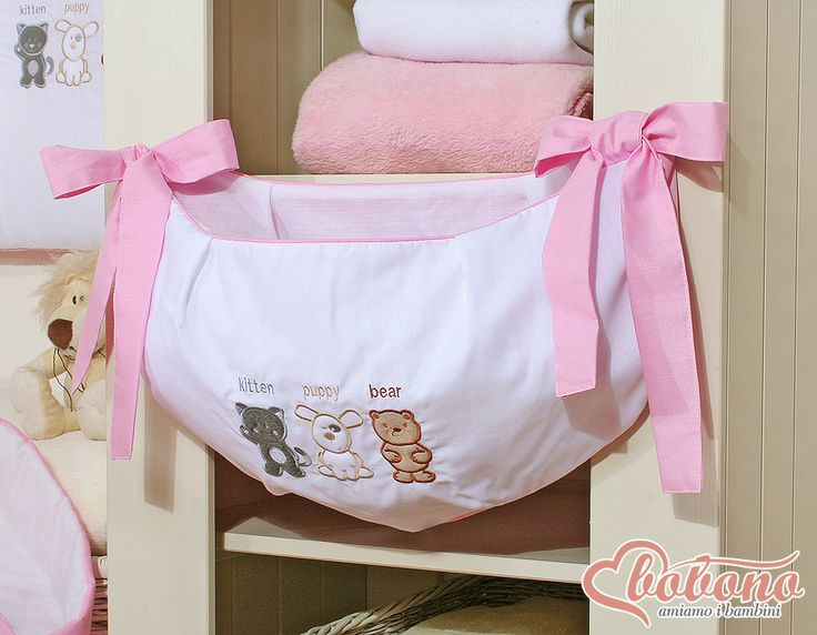 Pink toys bag / Bobono