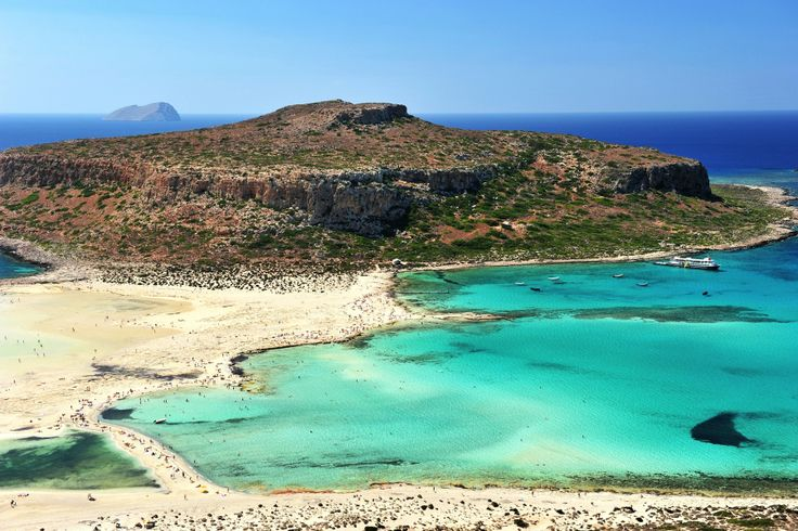 Balos beach in Chania, Crete