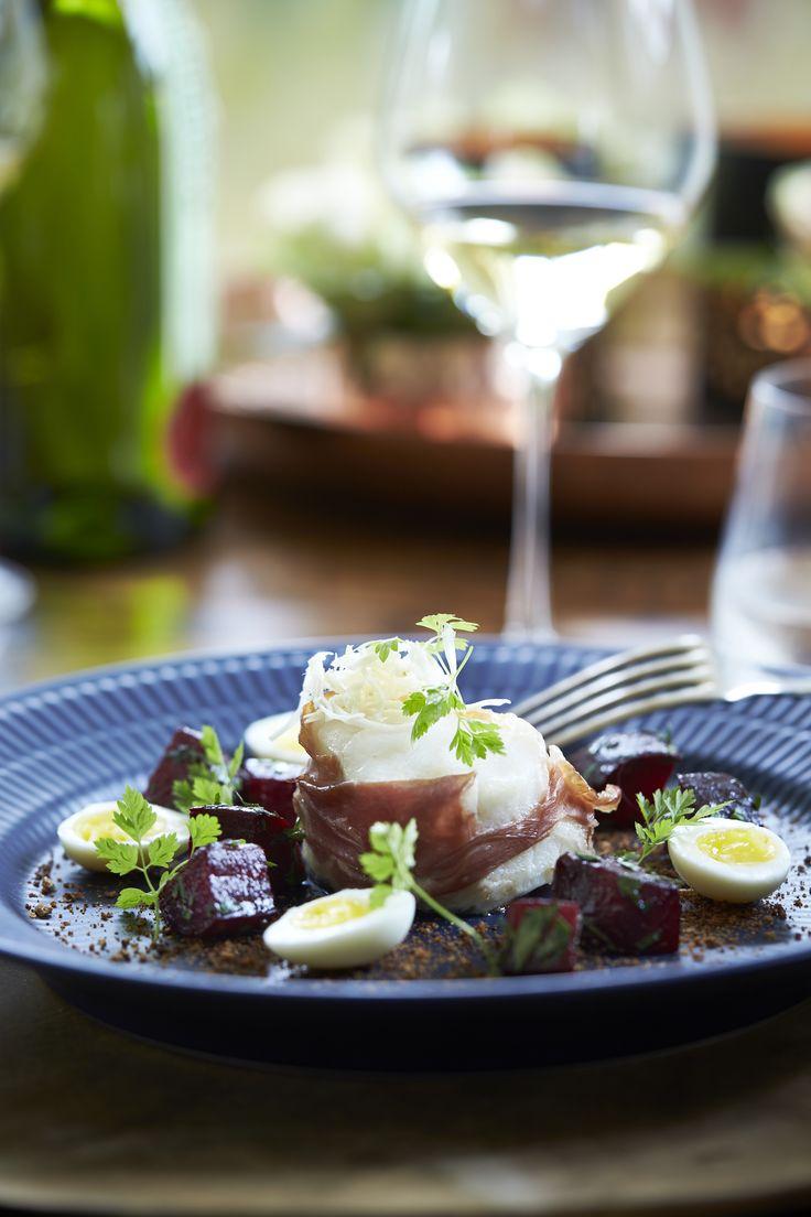 Tilføj en lækker og let ret til din gæstemenu med denne opskrift på torsk i…