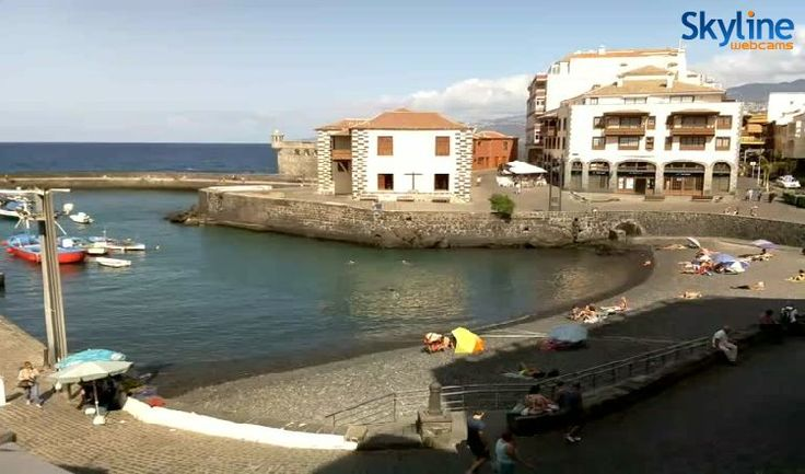 Live Cam Puerto de la Cruz – Tenerife