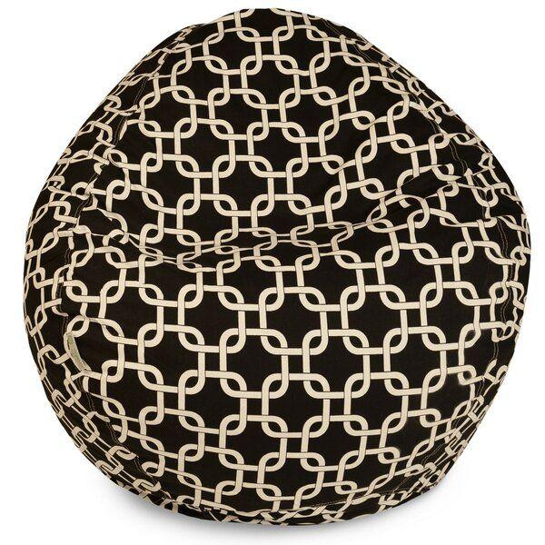 Banas Standard Outdoor Friendly Bean Bag Chair Geometric Bean Bags Small Bean Bag Chairs Outdoor Bean Bag Chair
