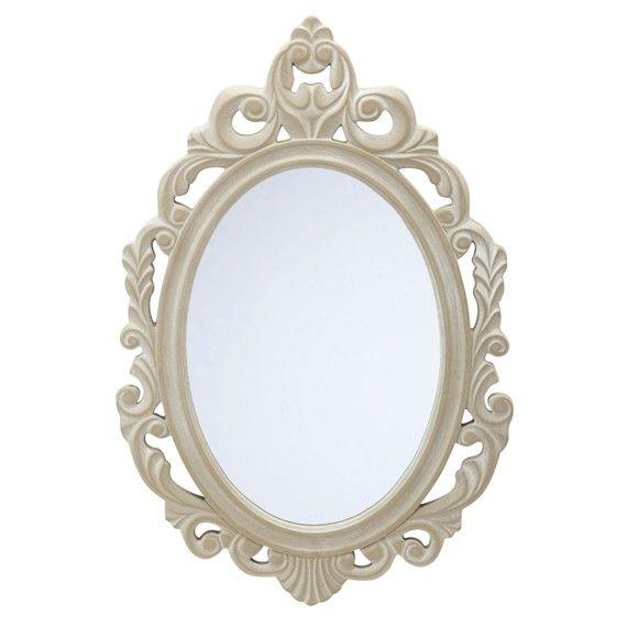 Dieser Wandspiegel ziert Ihr Zuhause! Der Rahmen des Spiegels ist in dezentem Grau gehalten, was das schöne Rankenmuster zusätzlich betont. Der charmante Rahmen erinnert an Besuche in Versailles und macht Lust auf einen romantischen Abend bei Kerzenschein. Ebenso inspiriert der schöne Spiegel zu neuen Looks beim morgendlichen Styling. Verlassen Sie Ihre vier Wände mit einem prachtvollen Lächeln!