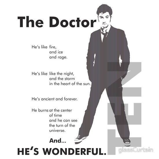 Doctor Who - ...hes wonderful