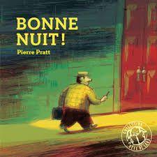 """Vite, aller se coucher, ôter ses vêtements, ses bras... Ses bras ?!!!  Bonne nuit, Pierre Pratt, éd. Thierry Magnier, coll. """"Tête de lard"""", - 2014 Album cartonné"""