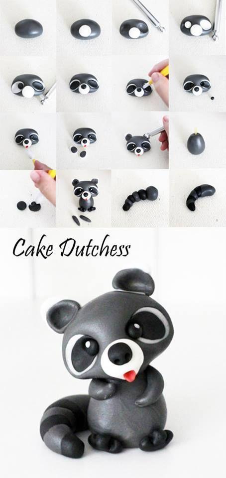 Raccoon Pictorial - Cake Dutchess