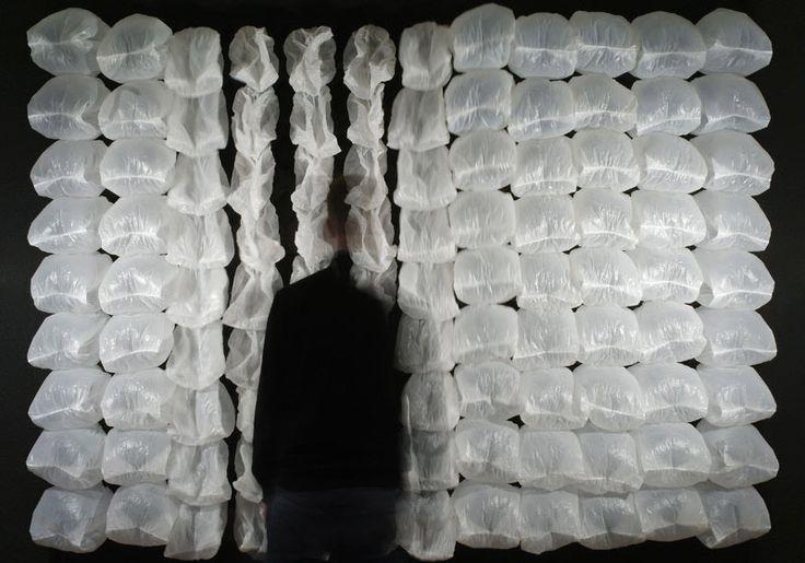 plastic bag sculpture - Google Search