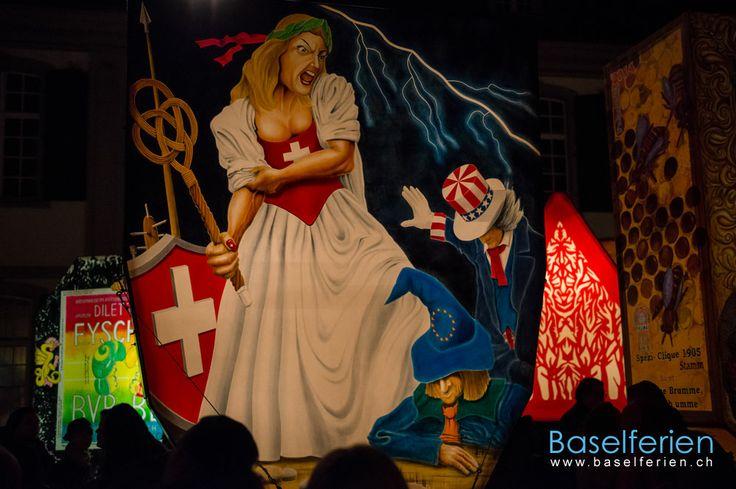 Fasnacht #Basel 2014 Laternenausstellung
