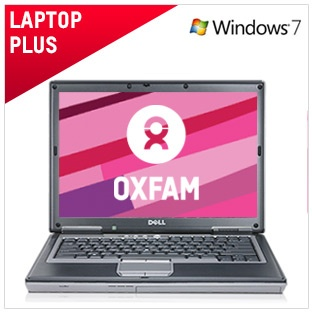 Laptop Plus - €240 / £199  This computer has been refurbished to the highest standard. Perfect for Internet and general use. It runs fast, has great storage and a DVD drive that's perfect for watching movies. Comes with a 6 month warranty.   And by buying this computer you're helping to raise vital funds for our work around the world.  Full spec and more info here: https://www.oxfamireland.org/computers/laptop-plus